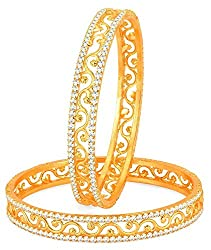 Youbella Gold Plated Bangle Set(2.4) For Women/Girls