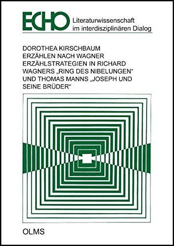 Erzählen nach Wagner: Erzählstrategien in Richard Wagners
