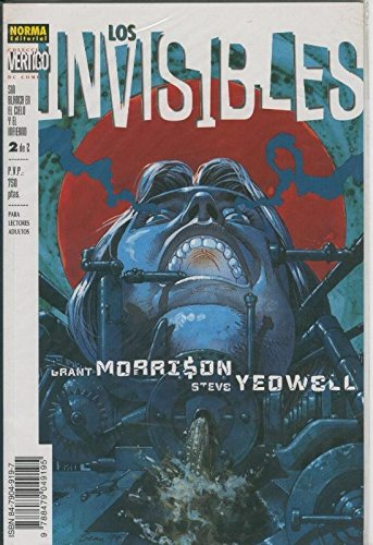 Vertigo numero 067: Los invisible: sin blanca en el cielo y en el infierno numero 2