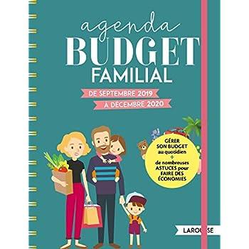 Agenda Budget Familial: De septembre 2019 à décembre 2020
