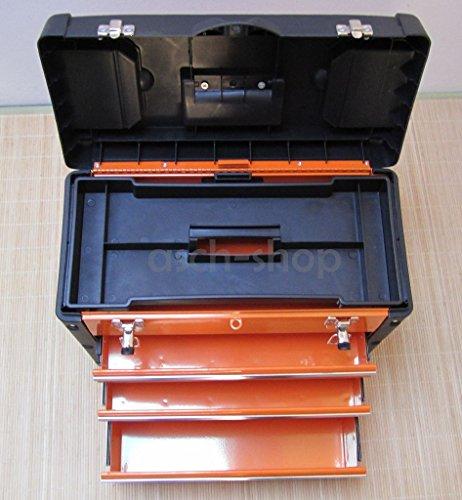 METALL Werkzeugkiste mit 7 Funktionen 3061BC von AS-S - 5