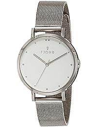 Fjord Analog White Dial Women's Watch - FJ-6019-22