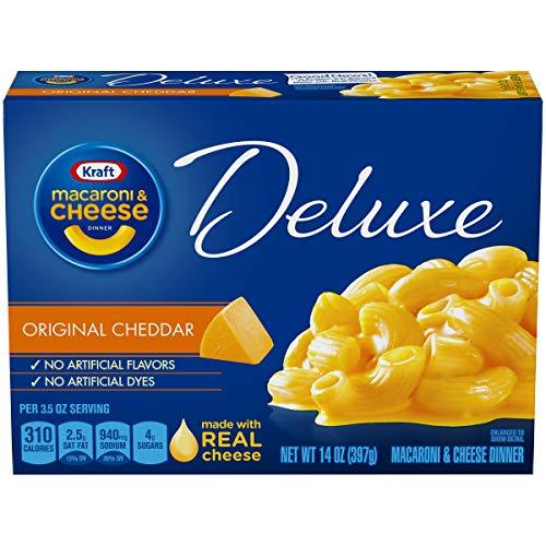 KRAFT Deluxe Macaroni & Cheese Dinner Original Cheddar, 397 g