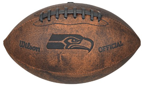 Gulf Coast Sales NFL Vintage Throwback Fußball, 22,9 cm, braun, 9