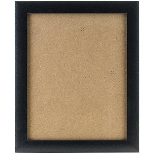 Holz Großhandel Bilderrahmen (Craig Frames Bilderrahmen, glatte Finish, 2,5cm breit, Holz Composite, holz, schwarz, 11 x 14)