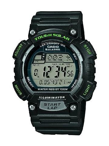 Casio Collection - Unisex-Armbanduhr mit Digital-Display und Resin-Armband - STL-S100H-1AVEF