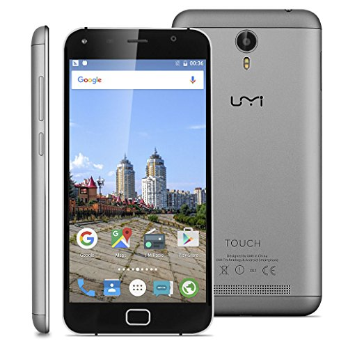 Umi Touch - 4G LTE Smartphone Libre Multitáctil Android 6.0 (Pantalla HD 5.5