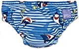 Bambino Mio Swim Nappy, Blue Shark, Size: Small (Manufacturer Size: 5-7kgs, 11-16lbs)
