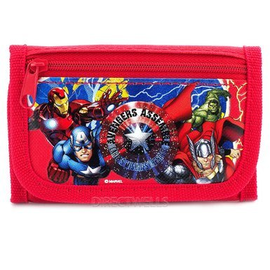 wallet-marvel-avengers-trifold-red-new-811630-red