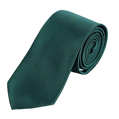 corbata 7 cm verde