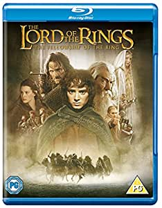 The Lord Of The Rings: The Fellowship Of The Ring [Blu-ray] [2013] [Region Free]
