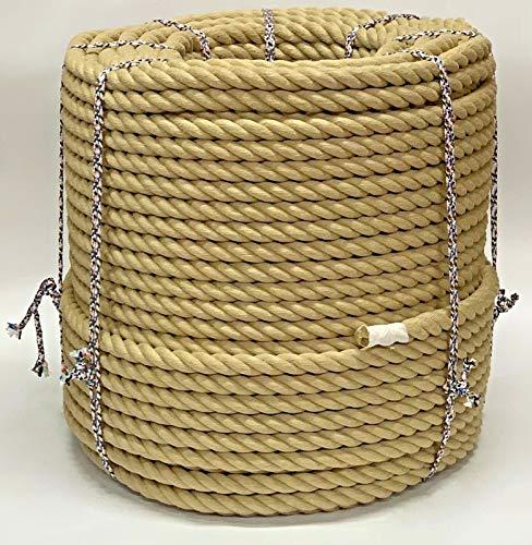 Kunststoff-Seil für Terrassendielen, 28 mm, Meterware. Seil für Terrassendielen Garten & Bootfahren