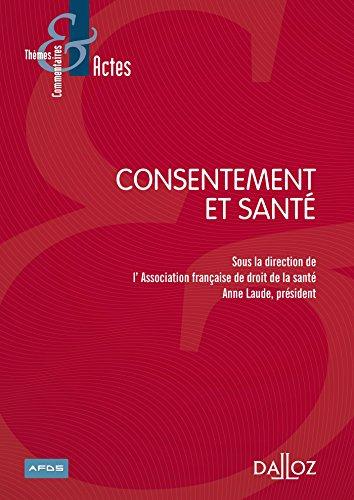 Consentement et santé - 1ère édition