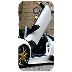 Motorola Moto G (2nd Gen) Back Cover - Magnetic Car Designer Cases