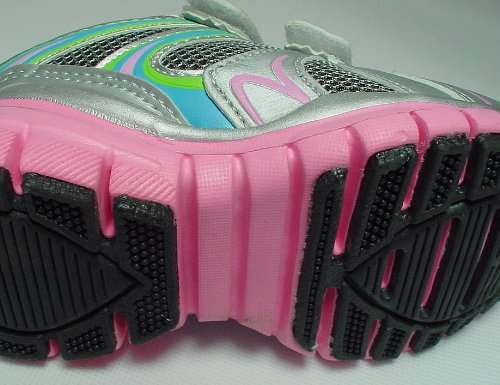 Gibra , Baskets pour femme - Luz plata/azul/rosa