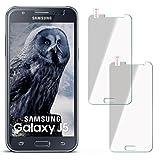 MoEx 2X OneFlow 9H Panzerfolie für Samsung Galaxy J5 (2015) | Panzerglas Display Glasfolie [Tempered Glass] Screen Protector Glas Displayschutz-Folie für Samsung Galaxy J5 2015 Schutzfolie