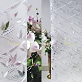 Verre Static Decorative Frosted Window Glass Film Ml006 (135Cms X 90Cms)