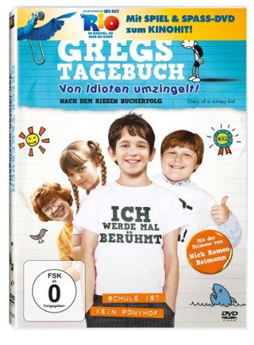 Gregs Tagebuch - Von Idioten umzingelt! (+ Rio Activity Disc) [2 DVDs]