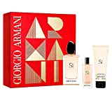 Giorgio Armani Si Geschensket 100ml EDP Eau de Parfum Spray + 15ml EDP Eau de Parfum Spray + 75ml Body Lotion