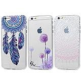3 x iPhone 6 6S TPU Tasche KASOS iPhone 6 6S Hülle Schutzhülle Handyhülle Schale Protective Cover Silicone Taschen Paket 3