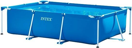 Intex Metal Frame Pool Rectangular 3 Mt X 2 Mt - 28272