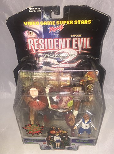 Resident Evil 2 Action Figur William Birkin + Sherry