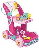 Per tutte le bambine che da grandi vogliono diventare dottoresse, il Carrello Dottore di Hello Kitty è il giocattolo ideale! Completamente rosa e trasportabile ovunque grazie alle comode rotelle, include accessori come termometro, stetoscopio...