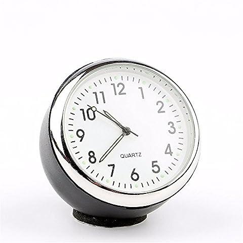 La voiture réveil/Thermomètre Voiture/véhicule/de l'intérieur de formulaires électroniques montres/Annexe/hygromètre/montres à quartz/location de décorations, d'horloge (blanc)