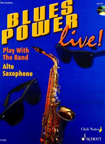 Blues Power +CD - Sax Alto par Gernot Dechert