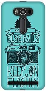 The Racoon Grip printed designer hard back mobile phone case cover for Asus Zenfone 2 Laser ZE550KL. (Keep on)