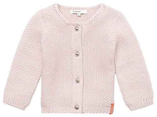 Noppies Baby-Mädchen Strickjacke G Cardigan Knit Amaro, Rosa (Blush C093), 68
