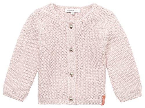 Noppies Baby-Mädchen Strickjacke G Cardigan Knit Amaro, Rosa (Blush C093), 80