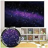GREAT ART XXL Affiche chambre d'enfant - Galaxy Stars - Décoration murale chambre d'enfant Stars du ciel étoilé Space Space Espace Tout Cosmos Space Poster (140 x 100 cm)