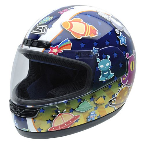 NZI 050249G614 Activy Junior Multi Space Casco Moto