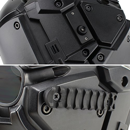 Full-covered taktischen Outdoor Motorrad Helm mit Maske Schutzbrille für Jagd Paintball Military Cosplay Movie Prop - 4