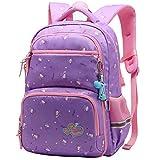 Rucksack Mädchen Kinderrucksack Mädchen Daypacks Blumen Schultasche Kinder Schulrucksack für Mädchen 3-6 Klasse