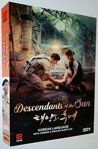 coréen Drama DVD descendant du soleil (coréen Série télévisée) Region Free DVD Set [DVD] [2016]