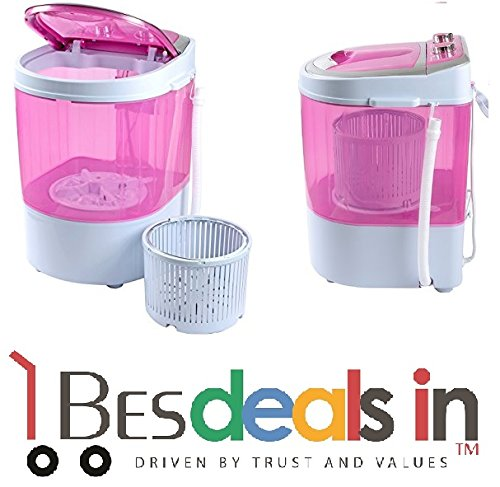 Stable Portable Mini Washing Machine with Dryer Basket