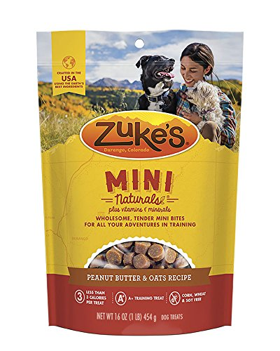 Artikelbild: Zuke 's Mini Naturals Gesundes Feucht Training behandelt