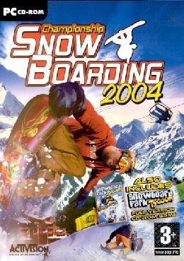 Championship Snowboarding + Snowboard Park Tycoon 2004 (輸入版)