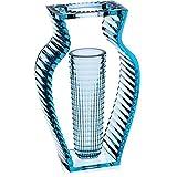 Kartell 1215E4 Vase I Shine, blau
