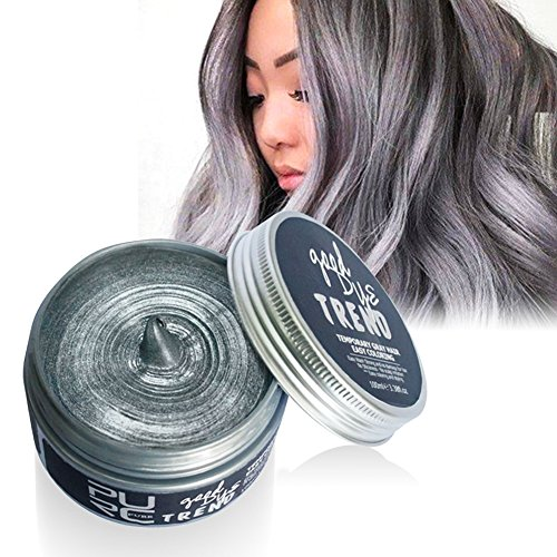 PanDaDa 7 Farbe Instant Haarwachs, Einmal Unisex Haar Schlamm Wasser Gel Hair Modeling (Männer Clubbing Kostüme Halloween)