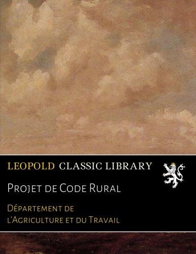 Projet de Code Rural