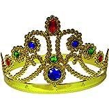 BestSaller 1307 Goldene Prinzessinen-Krone, Gold (1 Stück)