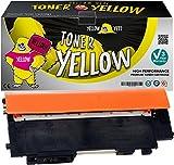 Yellow Yeti CLT-Y404S Jaune 1000 Pages Toner Compatible pour Samsung Xpress SL-C430 C430W SL-C480 C480FN C480FW C480W [Garantie de 3 Ans]
