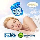 LABOTA 10pcs Dispositivos Anti Ronquidos, Soluciones Anti Ronquidos Respiraderos Dilatadores Nasales para Hombres Mujeres