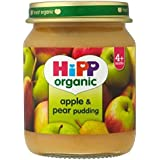 Hipp Organique Pomme Et De Poire Pouding 4 + Mois 125G - Lot De 2