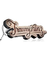 Holzschlüsselanhänger - Traumprinz