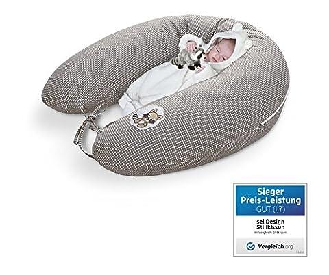Qualité bébé oreiller coussin d'allaitement de la grossesse de Sei