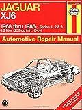 Jaguar Xj6 1968 Thru 1986: Series 1, 2 & 3 (Owners Workshop Manual)